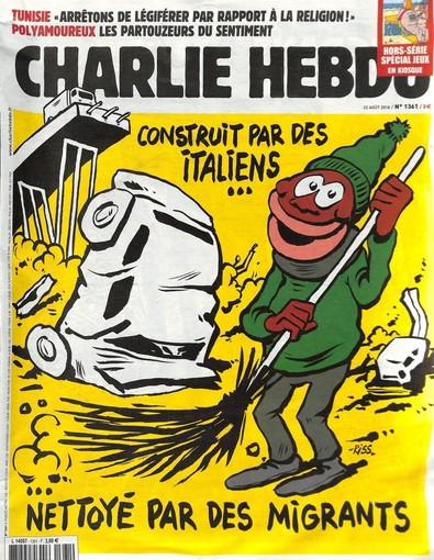 La copertina del n. 136 di Charlie Hebdo