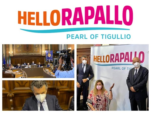 Hello Rapallo, Pearl of Tigullio: presentato in Consiglio Comunale il nuovo brand turistico