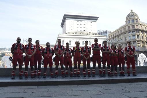 Crollo del ponte Morandi: premiati in Regione i volontari della Croce Rossa Italiana