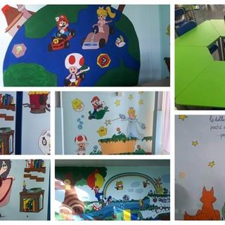 Biscione, la scuola 'Borsi' inaugura due nuove aule decorate da alunni e genitori (FOTO)