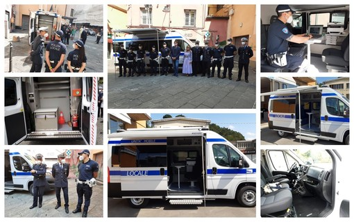 Centro Storico: entra in funzione un comando mobile della Polizia Locale nei carruggi (FOTO)