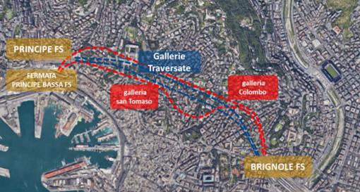 Nodo di Genova: proseguono i cantieri di realizzazione dei due nuovi binari tra Principe e Brignole