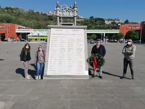 Cgil Genova omaggia i deportati del 16 giugno 1944 e i caduti di via De Cavero