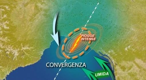 """Sulla Liguria incombe per domenica la minaccia del """"temporale autorigenerante"""""""