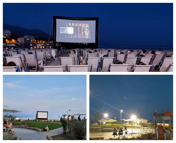 'Circuito sul mare', nuovo appuntamento al silent cinema di Sturla (FOTO)