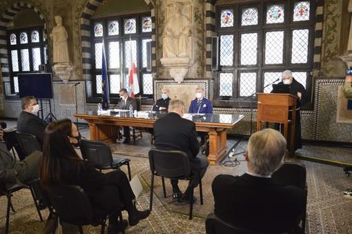 Nuovo Galliera, sempre più vicina la prima pietra del cantiere: la presentazione a Palazzo San Giorgio (VIDEO e FOTO)