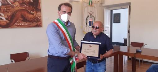 Levanto: Pippo Santonastaso è cittadino onorario