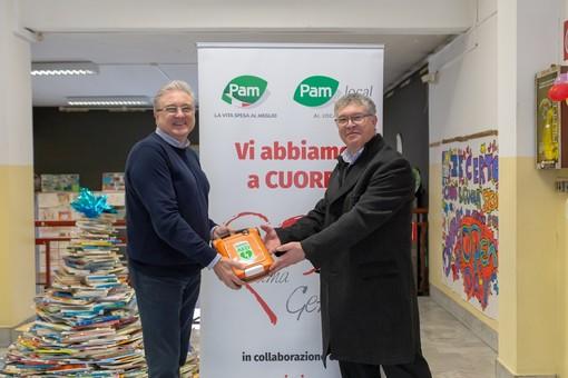 """Progetto """"Pam ama Genova"""": cinque defibrillatori  in alcune scuole del capoluogo ligure"""
