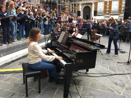 Tanto pubblico per il concerto inaugurale del Sempreverdi Festival! in piazza San Lorenzo (VIDEO e FOTO)