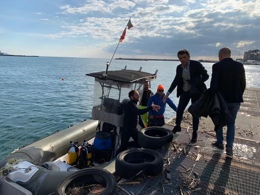 Analisi delle acque e batimetria del golfo di Rapallo prima del dragaggio che costerà un milione di euro