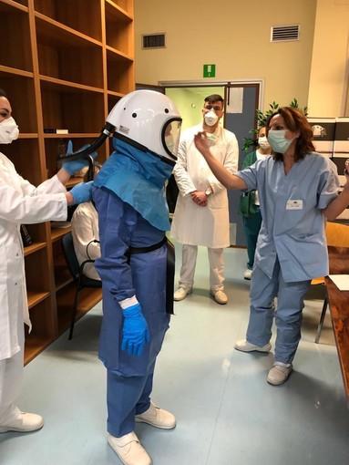 In arrivo all'ospedale San Martino nuovi dispositivi di protezione per il personale medico