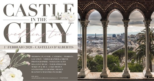 "Castello D'Albertis ospita l'evento ""Castle in the city - Wedding time"""