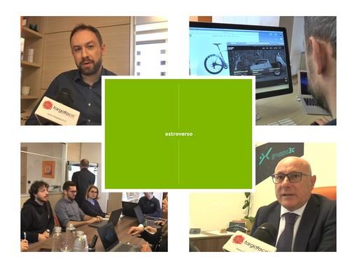 Design, comunicazione e sviluppo di software web: Estroverso e Gruppo 3C interpretano idee e prodotti dei clienti (VIDEO)