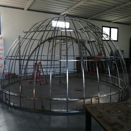 Parco Antola, al via la manutenzione straordinaria della cupola dell'osservatorio astronomico