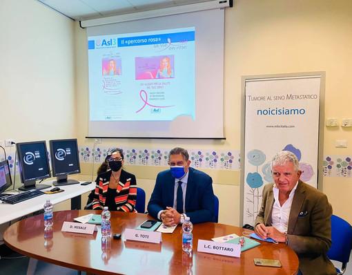 All'ospedale Villa Scassi nuovo reparto di psichiatria e prima sede regionale dell'associazione 'Tumore al seno metastatico-Noi ci siamo' (FOTO)