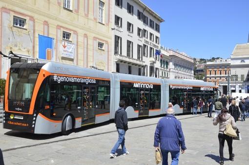 Filobus a Genova: 470 milioni dal Mit per il progetto