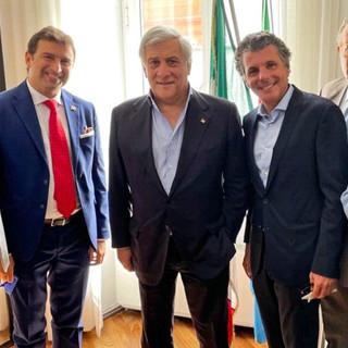 Scuola di Formazione di Forza Italia Liguria: giovedì 19 luglio visita di Antonio Tajani