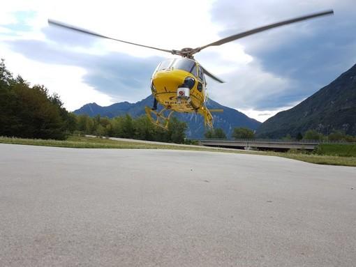 Parte dal cielo il controllo delle linee elettriche e-distribuzione sulla Liguria