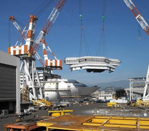 Commessa per Fincantieri: due nuove navi da 175mila tonnellate per Princess Cruises