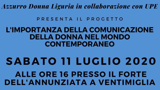 """Il convegno di Forza Italia a Ventimiglia; """"L'importanza della comunicazione al femminile"""""""
