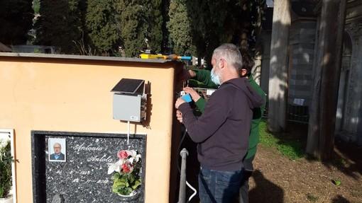 Falesia crollata a Camogli: operativa la rete con i sensori per il monitoraggio della parete rocciosa