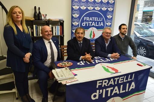 Al via la campagna elettorale di Augusto Sartori con la nuova sede genovese di Fratelli d'Italia (VIDEO e FOTO)