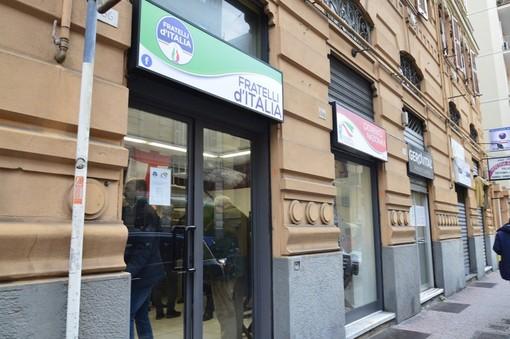"""Gioventù Nazionale Liguria: """"Elezioni subito, Fratelli d'Italia in piazza per chiedere lo scioglimento delle Camere"""""""