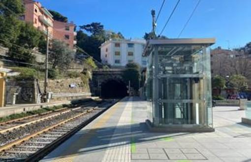 RFI, Genova Sturla: migliorano i servizi per i viaggiatori: attivati nuovi ascensori in stazione