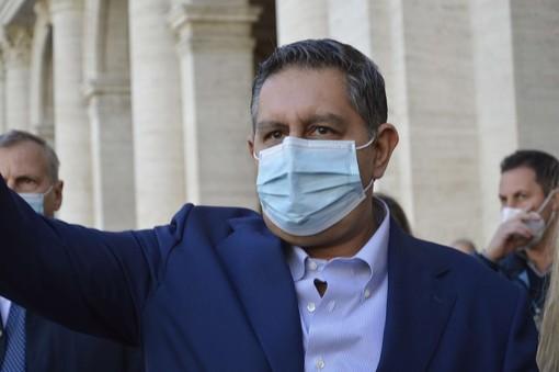 """Covid, Toti: """"Avanti tutta con la campagna vaccinale, entro venerdì prenotazioni per tutti i liguri vaccinabili"""""""