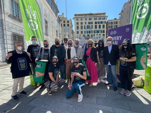 """Genova al centro della Giornata Mondiale per l'Ambiente con European Recycling Tour e il progetto """"Ogni lattina vale"""" (VIDEO)"""