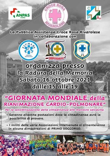 Giornata mondiale della rianimazione cardio polmonare, il 16 ottobre un evento alla radura della Memoria