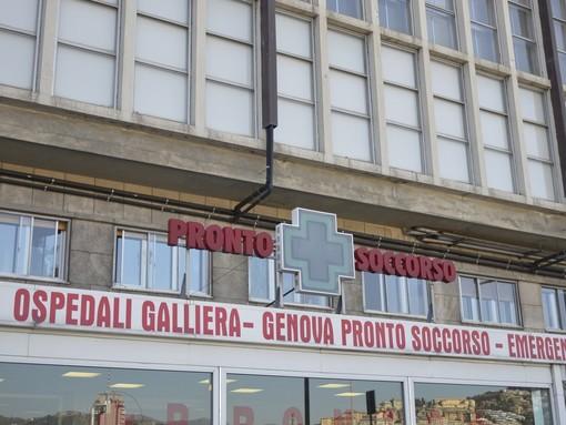 Emergenza coronavirus: altri otto decessi all'ospedale Galliera di Genova