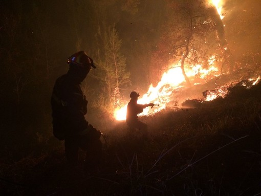 Incendi boschivi, da sabato 24 luglio scatta lo stato di grave pericolosità