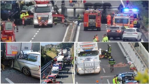 Quattro morti in 21 giorni: il tragico record prima di Pasqua delle autostrade liguri infestate dai cantieri (VIDEO)