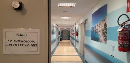 Il reparto di pneumologia dell'ospedale Villa Scassi è Covid-free