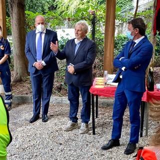 Rapallo: inaugurata la nuova sede del Soccorso Alpino (FOTO)