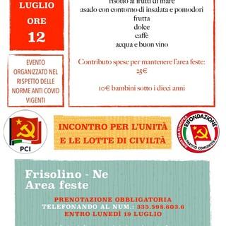 Nel Tigullio Pci e Prc organizzano un incontro con l'associazione nazionale di Amicizia Italia - Cuba
