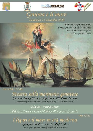 Sestri Levante: triplo evento nel fine settimana a Palazzo Fascie e al MuSeI