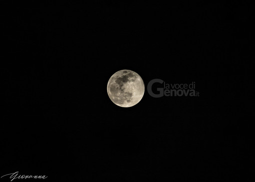Genova con il naso all'insù: tutti ad ammirare la Superluna