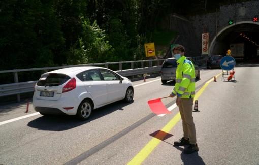 Traffico, A7: riapertura Ronco Scrivia, ma con code di 16 chilometri