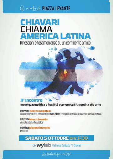 'Chiavari chiama America Latina': l'incontro con Goldstein e Ansaldo
