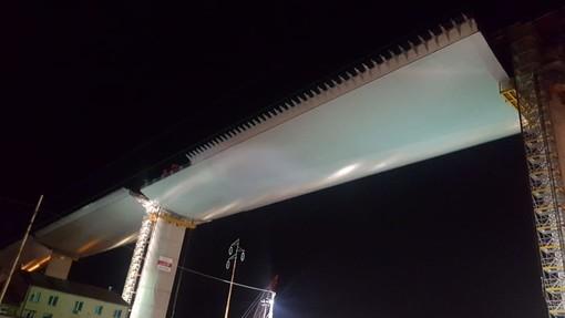 Arrivata in quota la terza e ultima maxi-campata del nuovo Ponte sul Polcevera (FOTO e VIDEO)