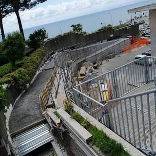 Quarto: il cemento invade la piazza di fronte al monumento dei Mille di Garibaldi