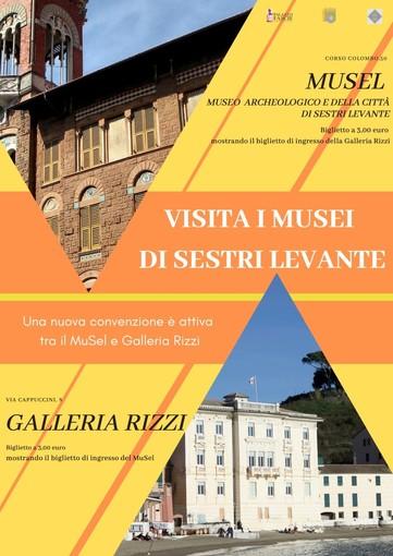 Sestri Levante: nuova collaborazione tra MuSel e Galleria Rizzi