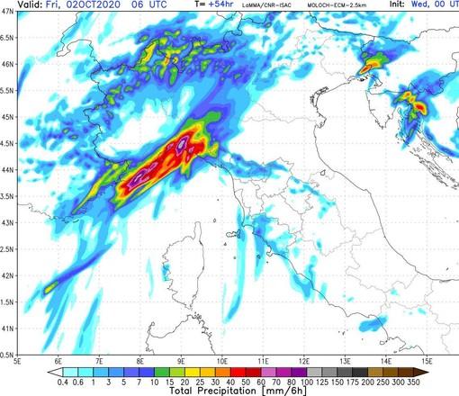 Torna il maltempo sulla Liguria, piogge e temporali sono attesi nella giornata di venerdì