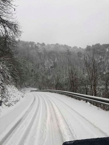 Maltempo, sabato di nuovo neve nell'entroterra di Genova fino a quota 1400 metri