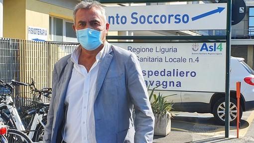 """Ospedale di Lavagna, Muzio (FI): """"Non depotenziare un servizio strategico nell'Asl4 chiavarese"""""""