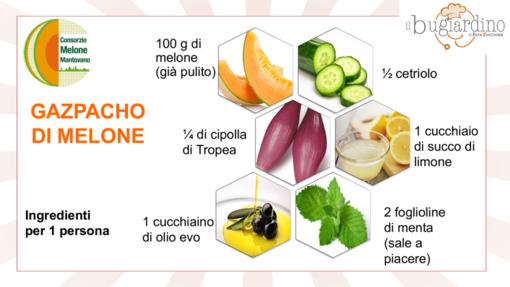 Felici e Veloci, le nuove ricette di Fata Zucchina: gazpacho di melone