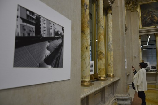 Il ponte Morandi negli scatti di Michele Guyot Bourg in mostra alla Banca d'Italia