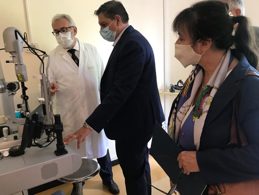 Nuovi spazi per l'oculistica all'ospedale Micone di Sestri Ponente [FOTO]